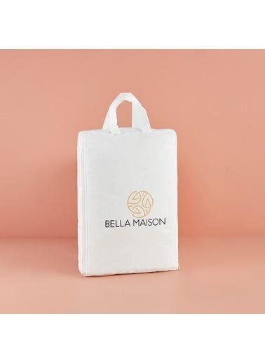 Bella Maison Microfiber Alez Çift Kişilik Beyaz